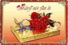 Imagini ,miscatoare,Gifuri,cu sclipici,stralucesc,blog,informatii,urari,mesaje,felicitari zi nastere: Felicitare la multi ani tort /Fluturi/Flori/Trandafiri Valentine Day Cards, Valentines Diy, Easy Diy Valentine's Day Cards, Beautiful Roses, Calendar, Happy Birthday, Place Card Holders, Personalized Items, Design