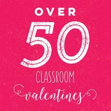 Celebrate Valentine's Day with over 50 of the cutest classroom Valentines. All the ideas are right here and the best part is I have created printable Valentine tags for each and every idea. MichaelsMakers Skip to My Lou