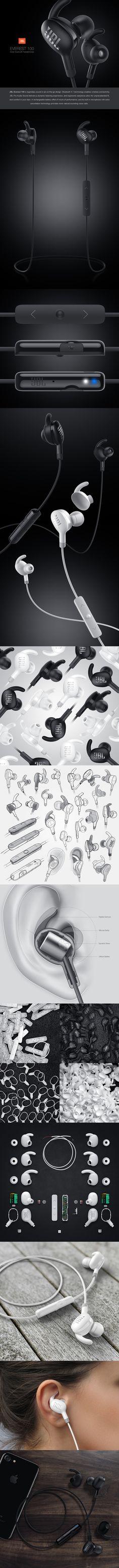 JBL Everest 100  La presentación de este producto se compone de un título, vistas, funciones, partes internas, exploración de su forma, demostración de uso y contexto, en conclusión, una presentación muy completa!