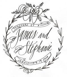 1.Linea Carta | 2.Fishwick Design | 3.Anchor B. | 4.Betsy Dunlap | 5. Hazel Wonderland | 6.Love Jenna | 7.Plurabelle | 8.Laurenish Design | 9.Serif & Script | 10. Nancy Hopkins Past calligraphy 1 and 2