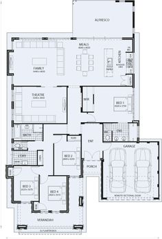 Home zone designs plan maison 2 pinterest plans for Plan de maison zone llc
