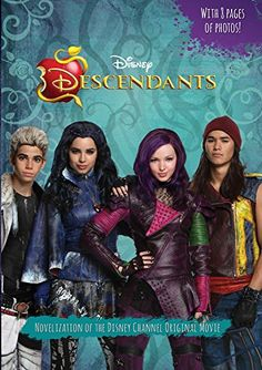 Disney DESCENDANTS Free Printable Party Pack Plus Dolls and Books