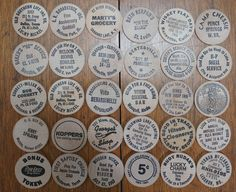 Wooden Nickels Instant Collection Lot of 30 All by strangenotions, $22.95