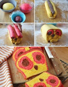 My niece would love OWL bread!! 30 Surprise-Inside Cake and Treat Ideas!!