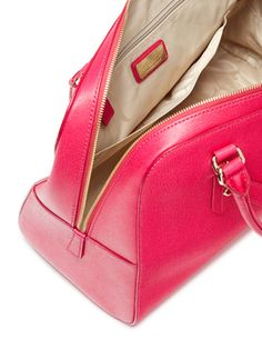 Elena Saffiano Leather Convertible Satchel from Carry It All: Totes & More on Gilt