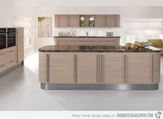 17 Wooden Matte Finished Kitchen Designs