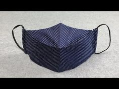 Make Fabric Face Mask at Home / DIY Face Mask With Sewing Machine / Easy Face Mask Pattern - Free Online Videos Best Movies TV shows - Faceclips Sewing Hacks, Sewing Tutorials, Sewing Patterns, Easy Face Masks, Diy Face Mask, Pocket Pattern, Free Pattern, Mascara 3d, Diy Couture