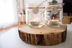 Diy para hacer unos porta-velas con tarros de cristal y pasta para moldear. Muy sencillos de hacer y bonitos. Todos los pasos en el blog Cactus, Pasta, Candy, Porta Velas, Chore List, Crystals, Wedding, Sweets, Noodles