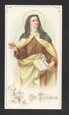Santa Teresa de Jesus (de Ávila), fundadora do Carmelo Descalço e Doutora da Igreja.