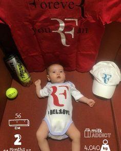 in Life, in family, in friends, in Love, in Dreams, in @rogerfederer... always #BEL18VE my Baby! 👶🏻❤ Dos meses de ese día en el que no dejo de pensar y nunca lo haré. Te amo tanto @luanitaamarilla 😍🙌🏽 #LaPetitLuanita #MyBaby #BabyGirl #BabyPic #BabyStoryApp #Babystagran #Federer #RogerFederer #RF #Tennis