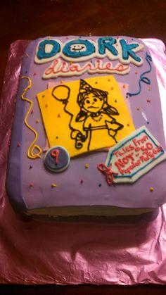 Dork Diaries Cake