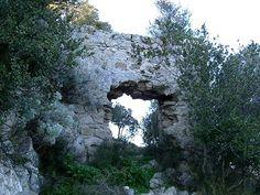 Mara -resti del castello di Bonuighinu o di Bonvehi
