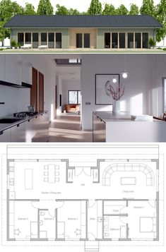 Small House Plan, Home Plan, Floor Plan, New House Designs.