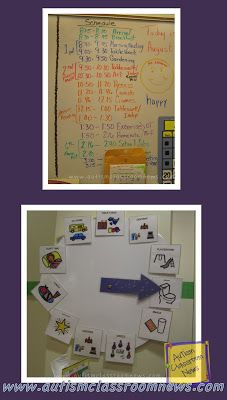 Autism Classroom News: Visual Schedule Series: 5 Reasons to Use Group Schedules