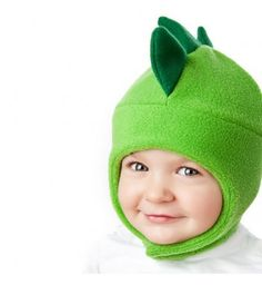 Chinstrap Fleece Hat Pattern for Kids -  Dinosaur, Bee and more - Fleece Hat Sewing Pattern PDF