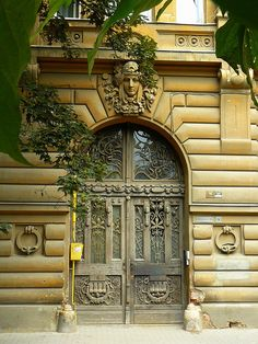 Fabulous doors in Romania. marculescubalasadomnita-romania on flickr.com