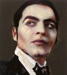 Lorca - Spanish poet and playwrite by lita Cabellut
