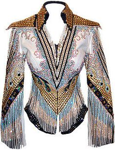 There's something oddly awesome about this jacket... though I'd pass on the points at the shoulders.