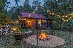 JME Retreat at The Cohutta Reserve - Rustic Restored Rental Cottage in Blue Ridge Georgia