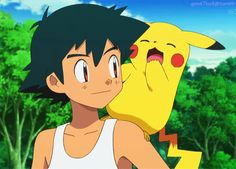 Ash and Pikachu ^.^ <3