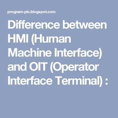 Free download modern control engineering by katsuhiko ogata 5th difference between hmi human machine interface and oit operator interface terminal fandeluxe Gallery