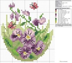 .Easter Egg Cross Stitch [Pattern]