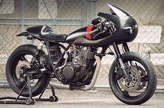 SR400 'Grace Racer' – AN-BU Custom Motors  |  Pipeburn.com