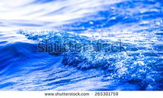 Blue Water Wave Stock Photography | Shutterstock
