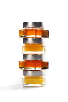 www.swissalpinehoney.com, set of four alpine honeys in 4.4oz, 125g jars