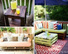 Outdoor Pallet Furniture Projects | Pallet Projects for Homesteaders