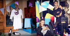 H&M Holiday 2013 Campaign with Christy Turlington + Doutzen Kroes