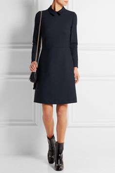 a153423d77 A.P.C. Atelier de Production et de Création - Austin crepe mini dress