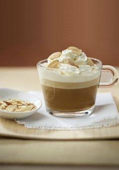 This Amandine Café recipe is truly fantastic. The smooth and creamy balance of the sweet almond with the robust chestnut flavors. This cozy beverage is great for sipping on after dinner as a dessert treat.