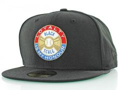 'Loyalty Is My Honour' 59Fifty Fitted Baseball Cap by BLACK SCALE x NEW ERA