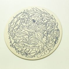 Botanical Phenomenon Coasters on Behance