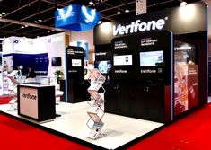 Verifone exhibited its cards and payment solutions at the Middle East's leading industry event Global Brands, Experiential, Solution, Trade Show, Arcade Games, Middle East, Over The Years, Innovation, How To Memorize Things