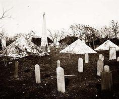 Savannah, Georgia. Soldier's graves1865.