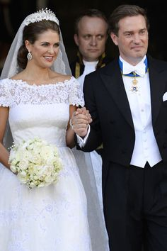 Férjhez ment Madeleine svéd hercegnő