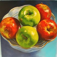 Still Life Pictures, Vegetable Painting, Fruit Painting, Acrylic Canvas, Art School, Mixed Media Art, Creative Art, Blueberry, Projects To Try