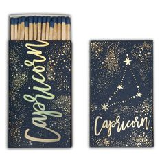 Capricorn Extra Large Matchbox