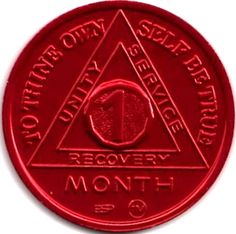 Presenting the Anodized 1 thru 11 Month AA Anniversary Token. There is no better way to celebrate a each month of Sobriety in Alcoholics Anonymous then with these wonderful recovery chips. Sober Quotes, Sobriety Quotes, Recovering Addict, Win For Life, 1 Monat, Alcoholics Anonymous, Serenity Prayer, Affirmation Cards, Don't Give Up