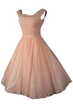 1950's style dress. Vintage style dress. If teens still get dressed up for prom in 10 years. This dress style dress will perfect for my daughter.
