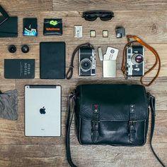 @kylesford's Berlin II messenger // ONA bags - premium leather camera bags