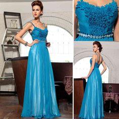 Blue ball dress, ball dress in blue, Tauranga blue dresses for ball, dress in blue for cocktail ball $240.00 www.theformalshop.co.nz