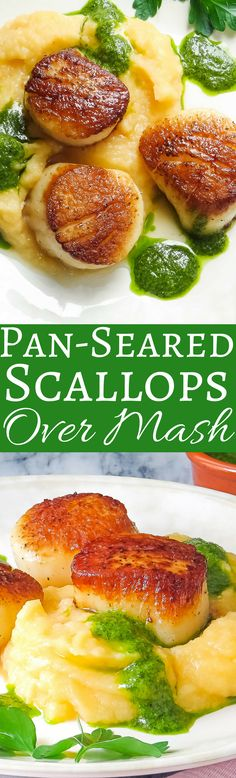 The secret to perfect pan-seared scallops every time! This simple recipe will show you how!