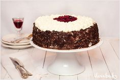 Tort cytrynowo-kokosowy z musem cytrynowym i lemon curd - przepis - I Love Bake Polish Recipes, Food Cakes, Tiramisu, Cake Recipes, Recipies, Food And Drink, Cooking Recipes, Sweets, Cookies