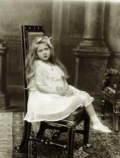 """Princess Marie """"Mignon"""" of Romania, later Queen of Yugoslavia. Circa 1906"""