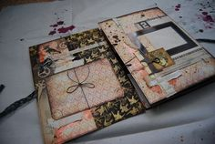 I love the colours - textures - and the pieces of this book