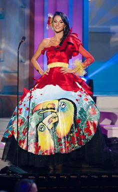 Miss Costa Rica, Miss Universe, Costume