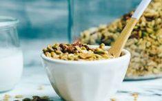 Granola casera, fácil y feliz - Green Vivant Granola, Snacks Saludables, Empanadas, Catering, Breakfast, Green, Food, Happy, Potatoes